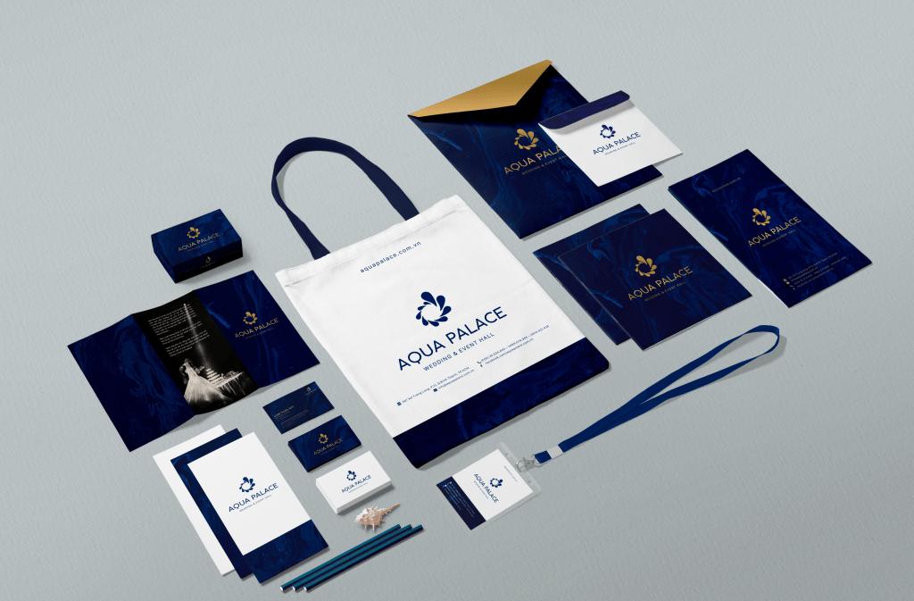 Brand Identity - Aqua Palace